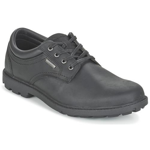 Chaussures Homme Derbies Rockport RGD BUC WP PLAINTOE Noir