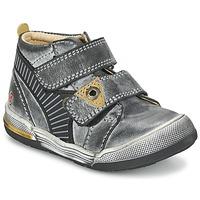 Chaussures Garçon Boots GBB NATHAN Gris / Jaune