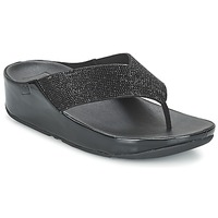 Chaussures Femme Sandales et Nu-pieds FitFlop CRYSTALL Noir
