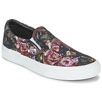 Chaussures Femme Baskets montantes Vans Classic Slip-On Black