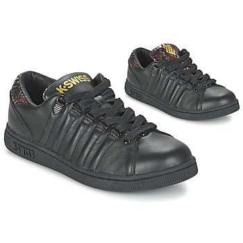 Chaussures Femme Baskets basses K-Swiss LOZAN TONGUE TWISTER Noir / Doré