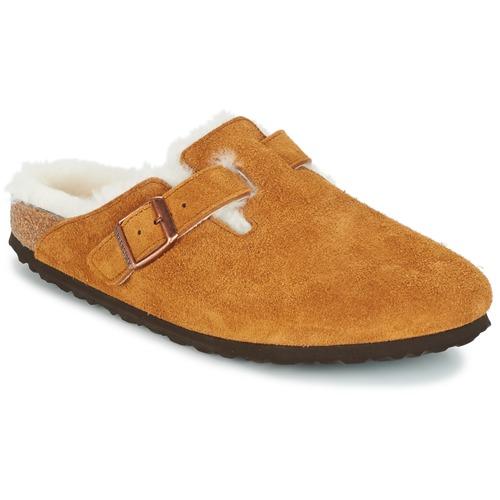 Chaussures Femme Sabots Birkenstock BOSTON Marron