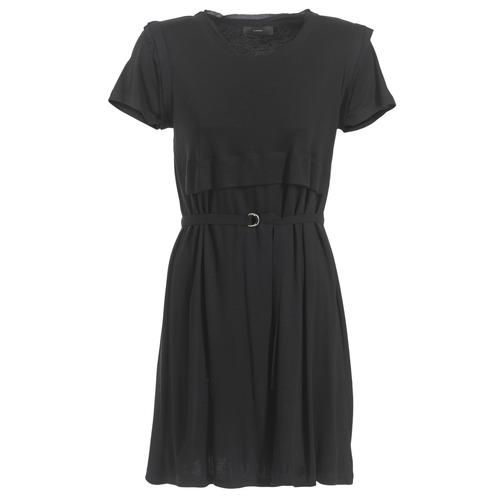Vêtements Femme Robes courtes Diesel D LETO Noir