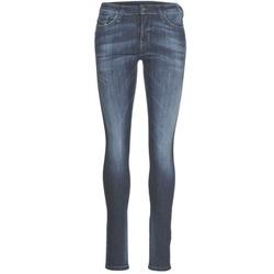 Vêtements Femme Jeans slim Diesel SKINZEE Bleu 0856G