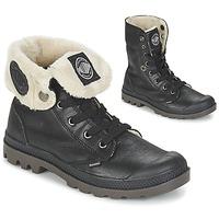 Chaussures Femme Boots Palladium BAGGY LEATHER FS Noir