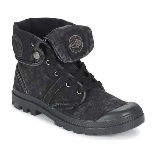 Chaussures Homme Boots Palladium US BAGGY Noir métallique