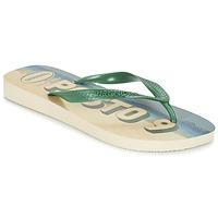 Chaussures Homme Tongs Havaianas POSTO CODE Vert / Bleu