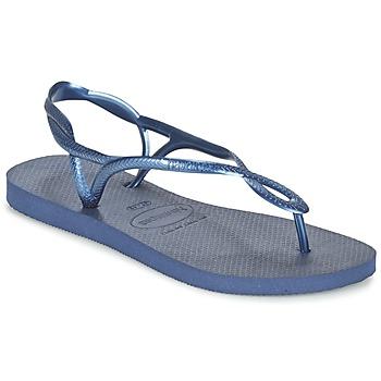 Chaussures Femme Tongs Havaianas LUNA Bleu marine