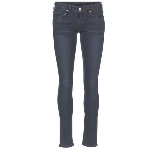 Vêtements Femme Jeans slim Mustang GINA Bleu Noir