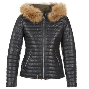 Vêtements Femme Doudounes Oakwood HAPPY Noir