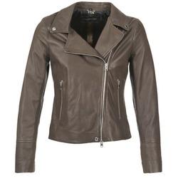 Vêtements Femme Vestes en cuir / synthétiques Oakwood 62049 Gris clair