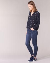 Vêtements Femme Jeans slim Yurban FABANE Bleu