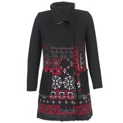 Vêtements Femme Manteaux Desigual JEFINITE Noir / Rouge