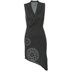 Vêtements Femme Robes courtes Desigual RAZIANA Noir