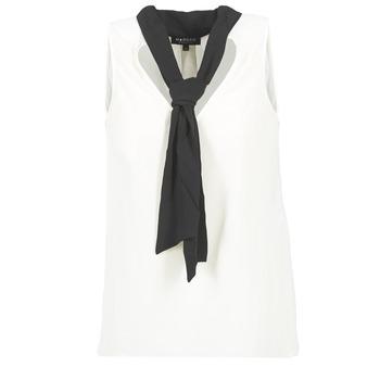Vêtements Femme Tops / Blouses Morgan OREA Blanc / Noir