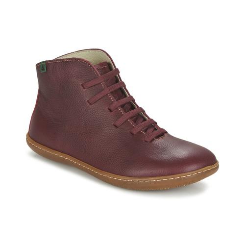 Chaussures Femme Boots El Naturalista EL VIAJERO Bordeaux
