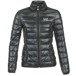 Vêtements Femme Doudounes Emporio Armani EA7 TRAIN CORE LADY W LT DOWN JACKET Noir