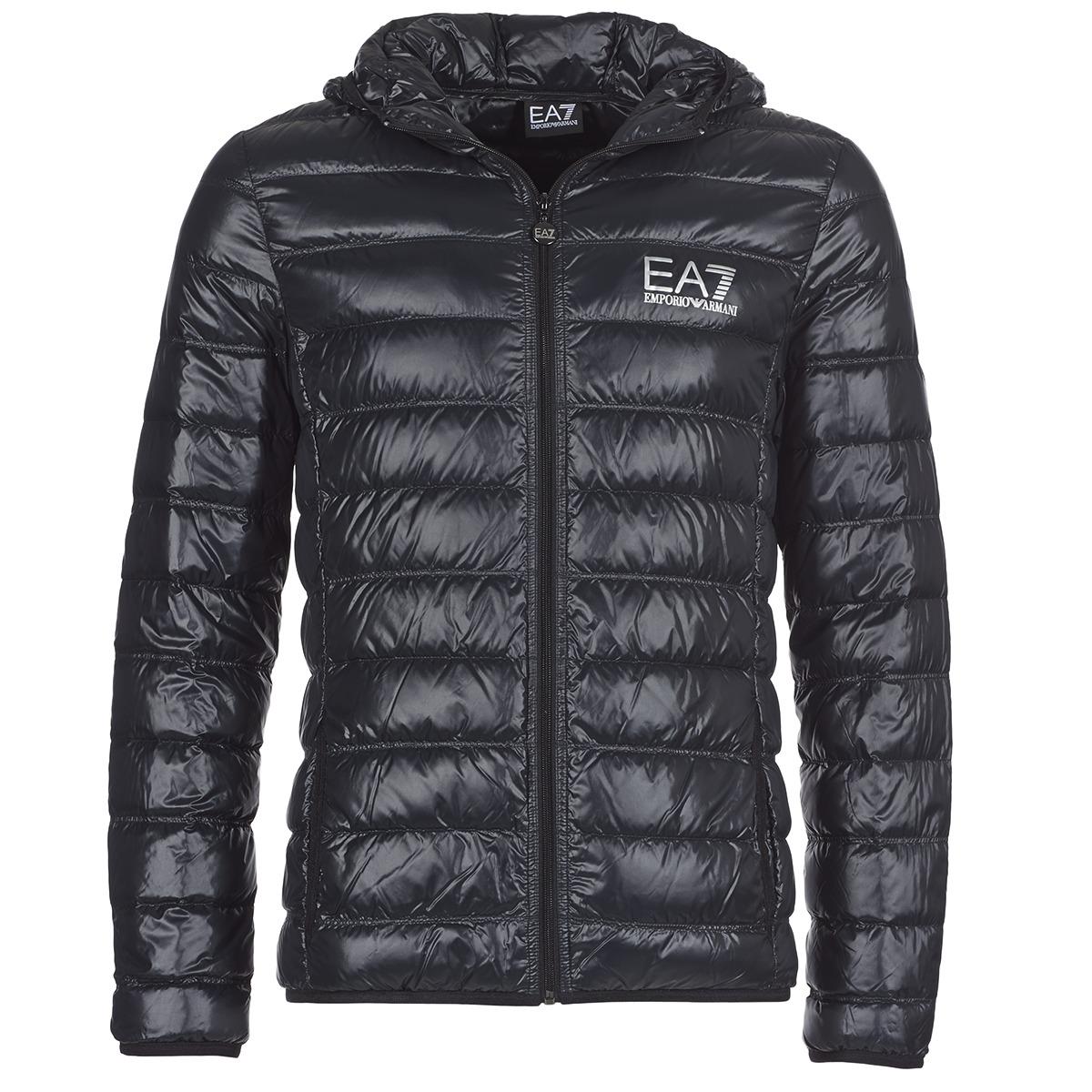 Emporio Armani EA7 ANDOURALO Noir - Chaussure pas cher avec Shoes.fr ! -  Vêtements Doudounes Homme 136,10 € 5331bdb95a5