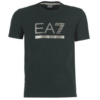 Vêtements Homme T-shirts manches courtes Emporio Armani EA7 MAGGAROL Noir