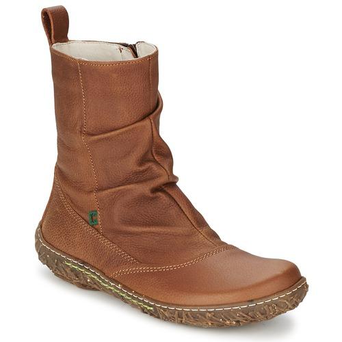 Chaussures Femme Boots El Naturalista NIDO Marron