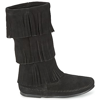 Bottes Minnetonka CALF HI 3 LAYER FRINGE BOOT