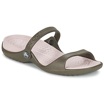 Sandale Crocs Cleo  Chocolate/Cotton Candy