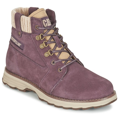 Chaussures Femme Boots Caterpillar CHARLI Violet