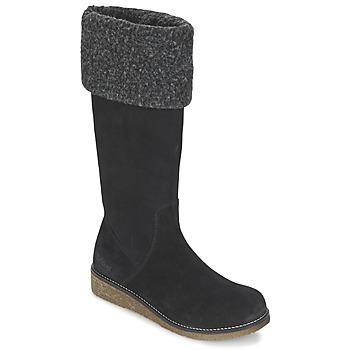 Chaussures Air max tnFemme Bottes ville Kickers KARINE Noir
