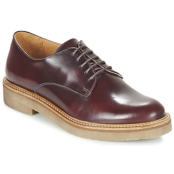 Chaussures Femme Derbies Kickers OXFORK Bordeaux