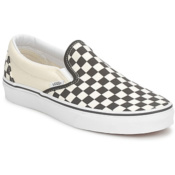 Chaussures Slips on Vans CLASSIC SLIP ON Noir / Ecru