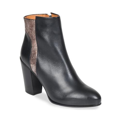Chaussures Femme Bottines Emma Go BOWIE Noir / Métalic