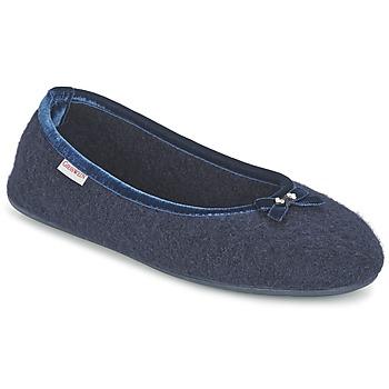 Chaussures Femme Chaussons Giesswein HOHENAU Marine