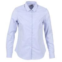 Vêtements Femme Chemises / Chemisiers Casual Attitude FANFAN Blanc / Bleu