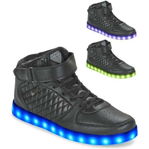 Chaussures Homme Baskets montantes Cash Money CMS33 LIGHTLORD JAILOR Noir