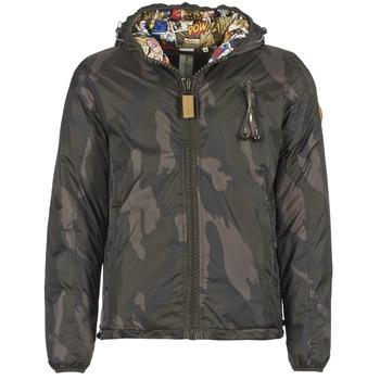 Vêtements Homme Doudounes 80DB Original HENDRIX Kaki Camouflage