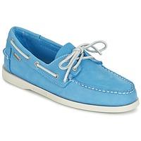 Chaussures Homme Mocassins Sebago DOCKSIDES Bleu