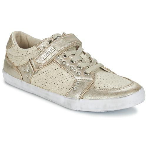 Chaussures Femme Derbies Kaporal Snatch Beige
