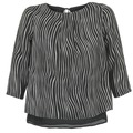 Vêtements Femme Tops / Blouses Betty London FADILIA Noir / Blanc