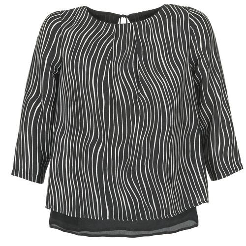 Vêtements Femme Tops / Blouses Betty London FADILIA Noir / Blanc