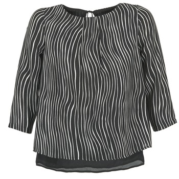 Blouses Betty London FADILIA Noir / Blanc