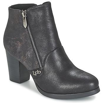 Chaussures Femme Bottines Les P'tites Bombes BALTIMORE Noir