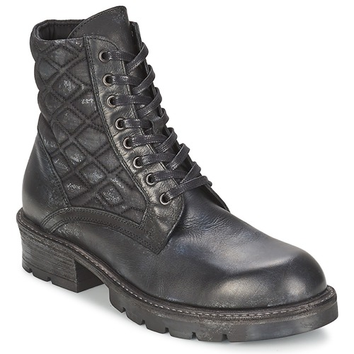 Chaussures Femme Boots Strategia BOMBER Noir