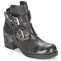 Chaussures Femme Bottines Strategia CRECA Noir