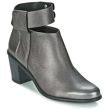 Chaussures Femme Low boots Miista ODELE Pewter lever