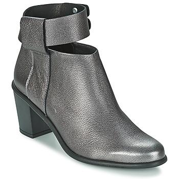 Chaussures Femme Bottines Miista ODELE Pewter lever