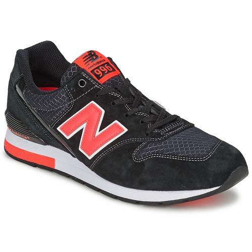 Chaussures Baskets basses New Balance MRL996 Noir / Rouge
