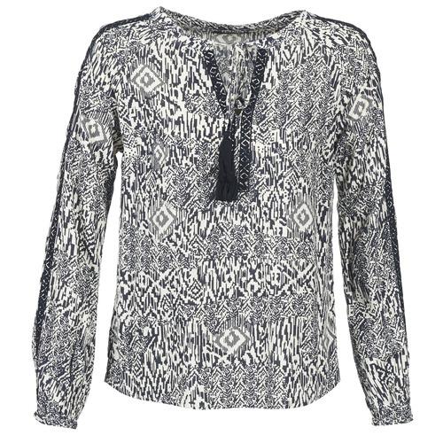 Vêtements Femme Tops / Blouses Vila VIETNO Gris / Blanc