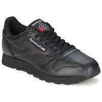 Chaussures Air max tnBaskets basses Reebok Classic CL LTHR Noir