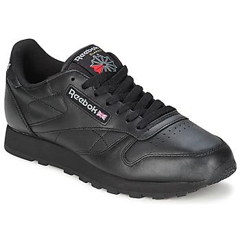 Chaussures Baskets basses Reebok Classic CL LTHR Noir