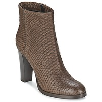 Chaussures Femme Bottines Alberto Gozzi MADRID T MORO Marron